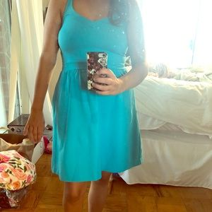 Cynthia Rowley women's SZ S Tiffany blue dress